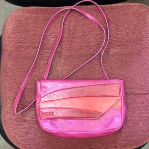 Miche hot pink and coral hip bag